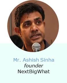 Ashish Sinha founder NextBigWhat Speaker